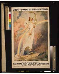 Liberty Sowing the Seeds of Victory ; Fr... by Dumond, Frank