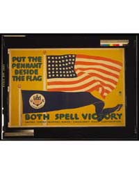 Put the Pennant Beside the Flag ; Both S... by Falls, C. B
