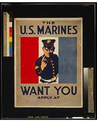 The US Marines Want You, Photograph 3G10... by Falls, C. B.