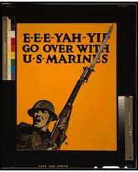 E-e-e-yah-yip Go Over with US Marines, P... by Falls, C. B.