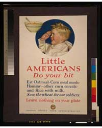 Little Americans, Do Your Bit Eat Oatmea... by Parker, Cushman