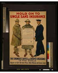 Hold on to Uncle Sam's Insurance, the St... by Flagg, James Montgomery