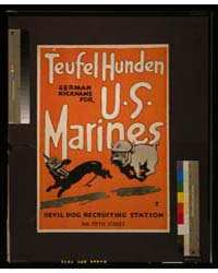 Teufel Hunden, German Nickname for US Ma... by Library of Congress