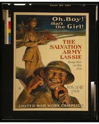 Oh, Boy That's the Girl the Salvation Ar... by Richards, George M.