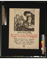 Hunger - for Three Years America Has Fou... by Raleigh, Henry