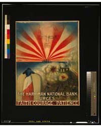 The Harriman National Bank Urges Faith, ... by Waddell, M.
