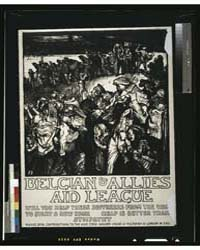 Belgian & Allies Aid League will You Hel... by Brangwyn, Frank
