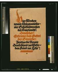 Vier Wochen Neunte Kriegsanleihe - Vier ... by Bernhard, Lucian