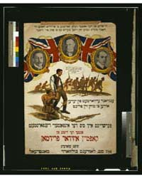 Britain Expects Every Son of Israel to D... by Library of Congress
