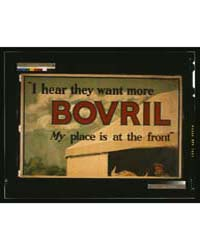 I Hear They Want More Bovril My Place is... by Library of Congress