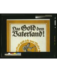 Das Gold Den Vaterland ; Bernhard, Photo... by Bernhard, Lucian
