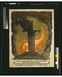 Württ Kriegsausstellung, 1916 Stuttgart ... by Cissarz, J. V.
