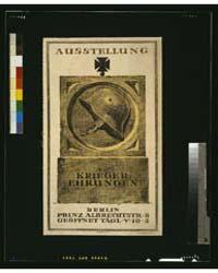 Ausstellung Kriegerehrungen ; Bober, Pho... by Bober