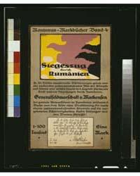 Siegeszug Durch Ruman̈ien ; Blank, Photo... by Blank