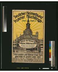 Deutscher Heimatbund Posener Flüchtlinge... by Feller, F.P.