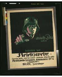 Auch Du Sollst Beitreten Zur Reichswehr,... by Engelhard, Julius Ussy