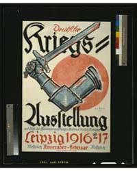 Deutsche Kriegs-ausstellung, Leipzig 191... by Gruner, Erich