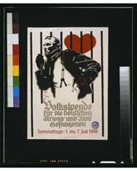 Volkspende Für Die Deutschen Kriegs-und ... by Hohlwein, Ludwig
