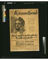 Zum Besten Der Kriegsnotspende, Drei Mit... by Lehmann, H.
