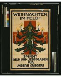 Weinachten Im Feld 1917 Spendet Geld Und... by Münzer, Adolf Franz Theodor