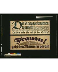 Die Kriegsgefangenen Kommen, Lassen Wir ... by Library of Congress