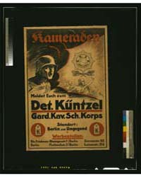 Kameraden Meldet Euch Zum Det Küntzel, P... by Library of Congress