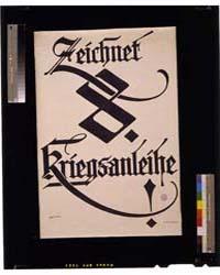Zeichnet 8 Kriegsanleihe ; E Ranzenhofer... by Ranzenhofer, Emil
