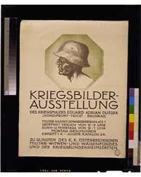 Kriegsbilderausstellung ; Eduard Adrian ... by Dussek, Eduard Adrian