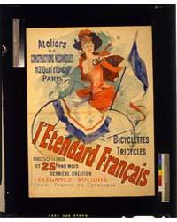 L'Etendard Français, Bicyclettes Et Tric... by Chéret, Jules