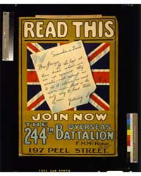 Read This, Join Now the 244Th Overseas B... by Library of Congress