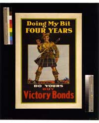 Doing My Bit, Four Years; Do Yours, Buy ... by Library of Congress