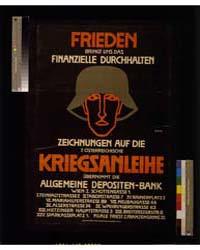 Frieden, Kriegsanleihe, ; I Bohatta, Pho... by Bohatta, Ida