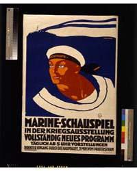 Marine-schauspiel in Der Kriegsausstellu... by Griessler, Franz