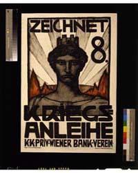 Zeichnet 8 Kriegsanleihe ; K Sterrer, Ph... by Sterrer, Karl