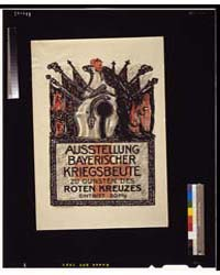 Ausstellung Bayerischer Kriegsbeute Zu G... by Stuck, Franz Von