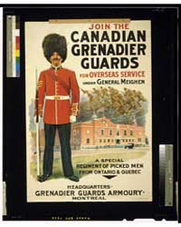 Join the Canadian Grenadier Guards, Phot... by Library of Congress