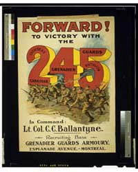 Forward to Victory with the 245 Overseas... by Library of Congress