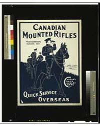 Canadian Mounted Rifles, Photograph 3G12... by Library of Congress
