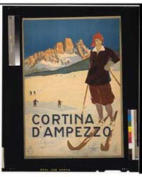 Cortina D'Ampezzo, Photograph 3G12496V by Library of Congress