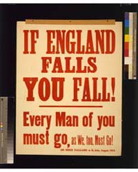 If England Falls You Fall Every Man of Y... by Library of Congress