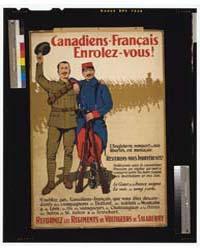 Canadiens-français Enrolez-vous L'Anglet... by Hider, Arthur H.
