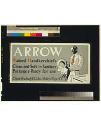 Arrow Washed Handkerchiefs, Clean and So... by Penfield, Edward