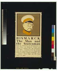 Bismarck, the Man and the Statesman, Pho... by Penfield, Edward