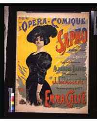 Sapho : Théâtre De L'Opéra-comique ; Pal... by Paleologue, Jean De