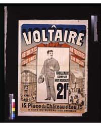 A Voltaire : Vêtements Tout Fait, Vêteme... by Chéret, Jules