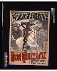 Don Quichotte, Bouffonnerie Équestre : N... by Lefèvre, Lucien