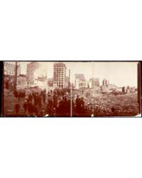 Panoramic Photograph of Baltimore Fire, ... by Library of Congress