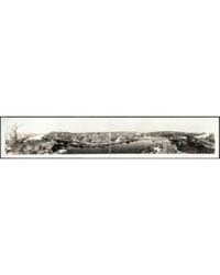 Panoramic View of the City of Easton, Ph... by Library of Congress