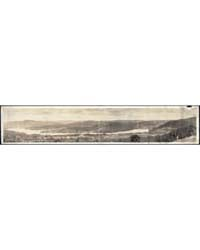 Panoramic View of Lake Fairlee from Quin... by Library of Congress
