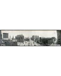Panoramic View of Shelton Square, Buffal... by Library of Congress